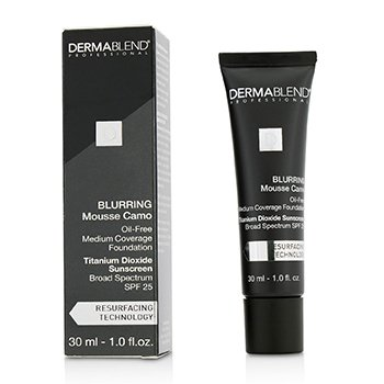 Dermablend Blurring Mousee Camo Base Libre de Aceite SPF 25 (Cobertura Media) - #55N Saffron  30ml/1oz