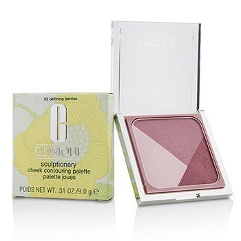 Clinique Sculptionary Cheek Contouring Palette - # 02 Defining Berries  9g/0.31oz