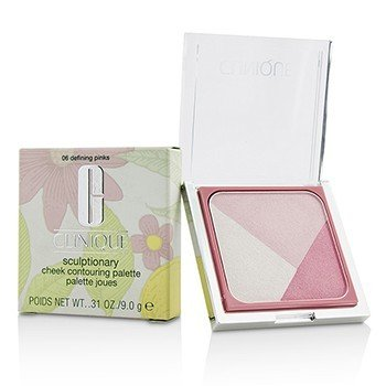 Clinique Sculptionary Cheek Contouring Palette - # 06 Defining Pinks  9g/0.31oz