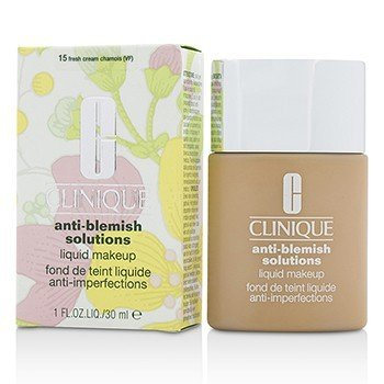 Clinique Anti Blemish Solutions Maquillaje Líquido - # 15 Fresh Cream Chamois  30ml/1oz