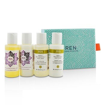 Body Travel Kit: 2x Body Wash 50ml, 1x Body Lotion 50ml, 1x Body Cream 50ml  4pcs