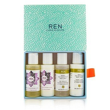 レン Body Travel Kit: 2x Body Wash 50ml, 1x Body Lotion 50ml, 1x Body Cream 50ml  4pcs