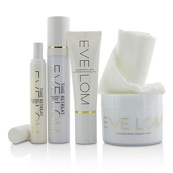 Restorative Ritual Set: Cleanser 200ml+Face Treatment 50ml+Eye Treatment 15ml/0.5oz+Daily Protection SPF 50+Muslin Cloth  5pcs