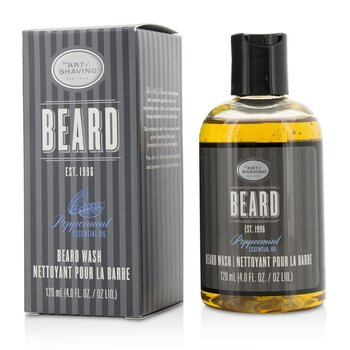 Beard Wash - Peppermint Essential Oil  120ml/4oz