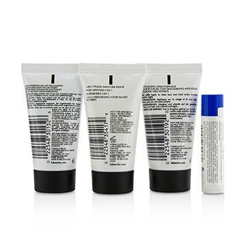 Lab Series The Starter Series : Multi-Action Face Wash 30ml + Face Lotion 30ml + Post Shave 30ml + Lip Balm 4.3g  4pcs