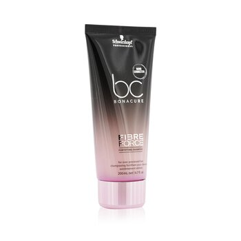 BC Bonacure Fibre Force Fortifying Shampoo (For Over-Processed Hair)  200ml/6.8oz