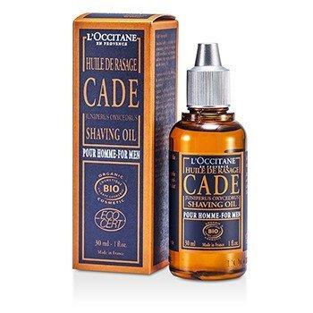 L'Occitane Cade For Men Shaving Oil (Exp. Date: 09/2017)  30ml/1oz