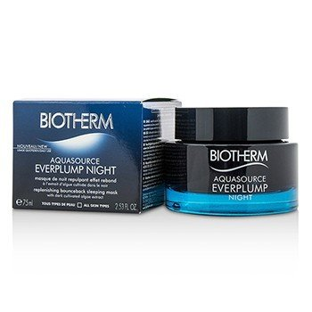 Biotherm Aquasource Everplump Night Replenishing Bounceback Mascarilla Para Dormir  75ml/2.53oz