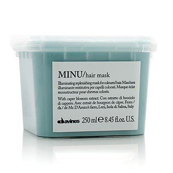 Minu Pak Illuminating Replenishing Mask (For Coloured Hair)  250ml/8.45oz