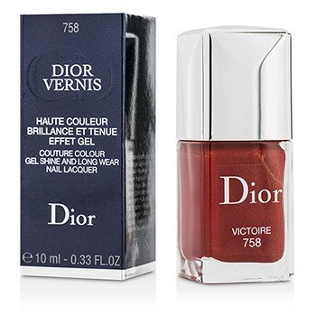 Christian Dior Lakier do paznokci Dior Vernis Couture Colour Gel Shine & Long Wear Nail Lacquer - # 758 Victoire  10ml/0.33oz