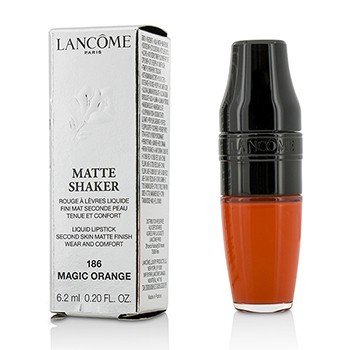 Lancome Matte Shaker Pintalabios Líquido - # 186 Magic Orange  6.2ml/0.2oz