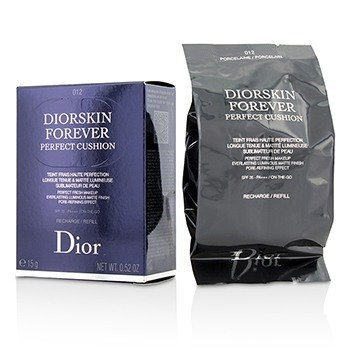 Christian Dior Diorskin Forever Perfect Cushion SPF 35 Refill - # 012 Porcelain  15g/0.52oz