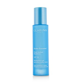Clarins Hydra-Essentiel Moisturizes And Quenches Milky Lotion SPF 15 - Normal to Combination Skin  50ml/1.7oz