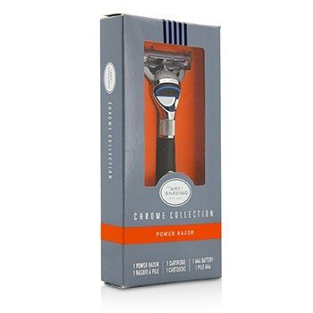 The Art Of Shaving Chrome Collection Cuchilla de Afeitar de Pilas - Sin Batería  1pc