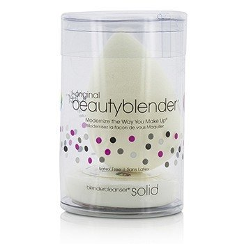 BeautyBlender BeautyBlender With Mini Solid BlenderCleanser Набор - Pure (White)  2pcs