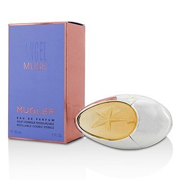 Thierry Mugler (Mugler) Angel Muse Eau De Parfum Spray (Rellenable Cosmic Pebble)  30ml/1oz