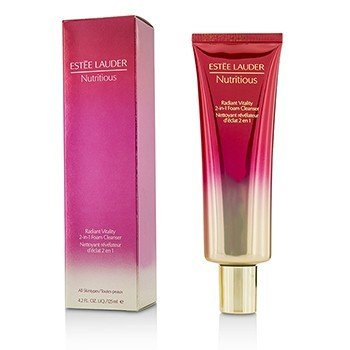 Estee Lauder Nutritious Radiant Vitality 2-in-1 Foam Cleanser  125ml/4.2oz
