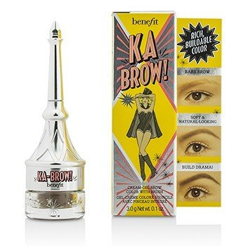 Ka Brow Cream Gel Brow Color With Brush  3g/0.1oz