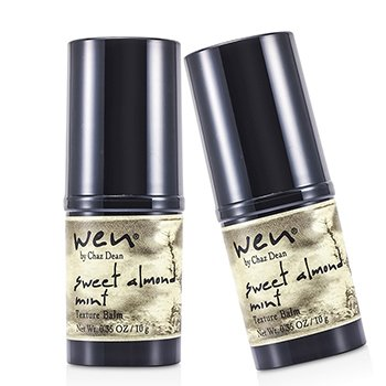 Wen Sweet Almond Mint Texture Balm Duo Pack  2x10g/0.35oz