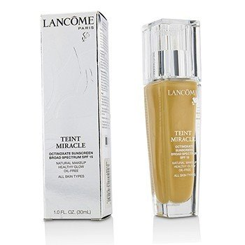 Lancome Teint Miracle Natural Healthy Glow Makeup SPF 15 - # 320 Bisque 4W (US Version)  30ml/1oz