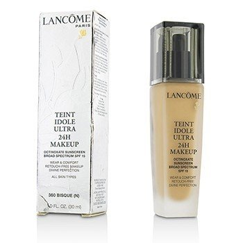 Lancome Teint Idole Ultra 24H Wear & Comfort Foundation SPF 15 - # 360 Bisque N (US Version)  30ml/1oz