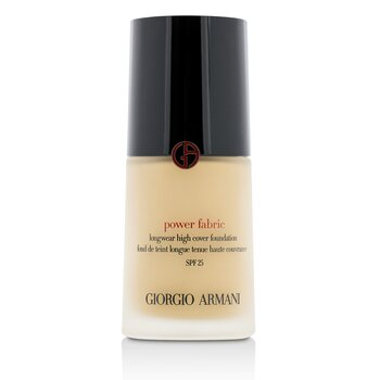 Giorgio Armani Power Fabric Base de Cobertura Alta de Larga Duración SPF 25 - # 3 (Fair, Rosy)  30ml/1oz
