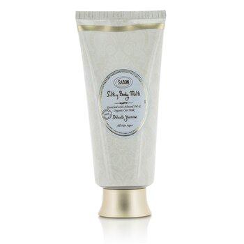 Sabon Silky Body Milk - Delicate Jasmine  200ml/7oz