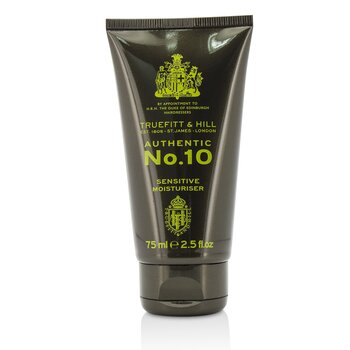 Truefitt & Hill Authentic No.10 Sensitive Moisturiser 01015  75ml/2.5oz