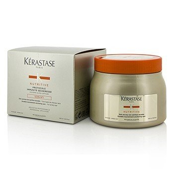 เคเรสตาส Nutritive Protocole Immunit้ S้cheresse Soin Nฐ1 Durable Nourishment Anchoring Care (For All Dry Hair)  500ml/16.9oz