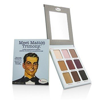 TheBalm Meet Matt(e) Trimony Matte Eyeshadow Palette  21.6g/0.756oz