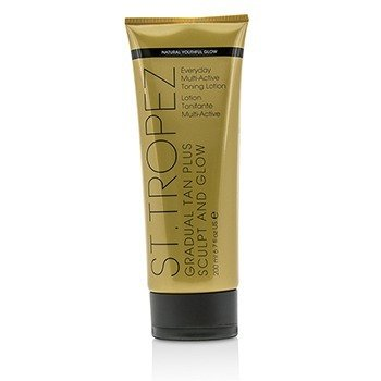 Gradual Tan Plus Sculpt And Glow Everyday Multi-Active Toning Lotion 01474  200ml/6.7oz