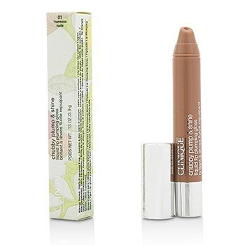 Clinique Chubby Plump & Shine Liquid Lip Plumping Gloss - #01 Normous nude  3.9g/0.13oz