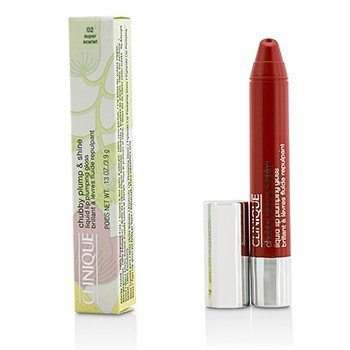 Clinique Chubby Plump & Shine Brillo de Labios Líquido Llenante - #02 Super Scarlet  3.9g/0.13oz