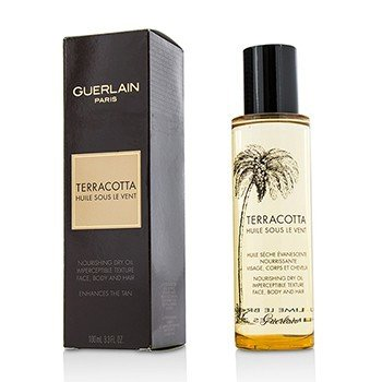 Terracotta Nourishing Dry Oil - For Face, Body & Hair  100ml/3.3oz