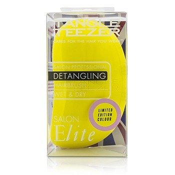 タングルティーザー Salon Elite Professional Detangling Hair Brush - # Lemon Sherbet (For Wet & Dry Hair)  1pc