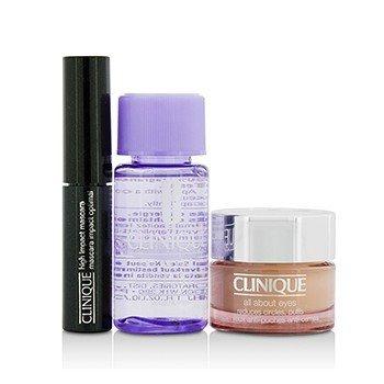 Clinique Set: All About Eye 15ml + Mascara 3.5ml + Eye Makeup Remover 30ml 482816  3pcs
