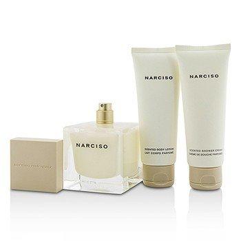Narciso Coffret: Eau De Parfum Spray 90ml/3oz + Body Lotion 75ml/2.5oz + Shower Cream 75ml/2.5oz  3pcs