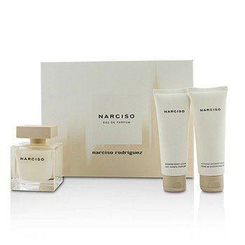 Narciso Rodriguez Narciso Coffret: Eau De Parfum Spray 90ml/3oz + Loción Corporal 75ml/2.5oz + Crema de Ducha 75ml/2.5oz  3pcs