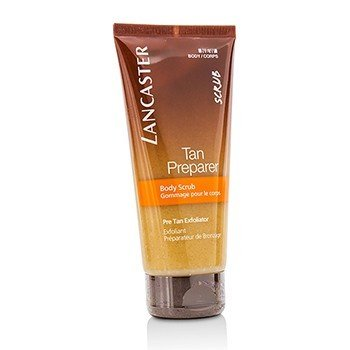 Lancaster Tan Preparer Body Scrub - Pre Tan Exfoliator  200ml/6.7oz