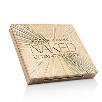 Naked Ultimate Basics Eyeshadow Palette: 12x Eyeshadow, 1x Doubled Ended Blending and Smudger Brush  -