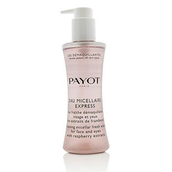 Payot Les Demaquillantes Eau Micellaire Express - Cleansing Micellar Fresh Water For Face & Eyes  200ml/6.7oz