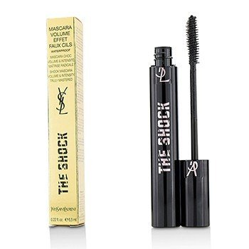 Yves Saint Laurent The Shock Mascara Volume Effect Faux Cils Waterproof - (Black)  6.5ml/0.22oz