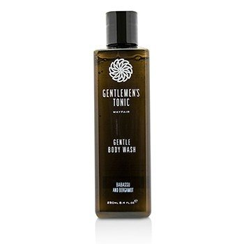 Gentlemen's Tonic Babassu And Bergamot Gentle Body Wash  250ml/8.4oz