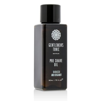 Gentlemen's Tonic Babassu And Bergamot Pre Shave Oil  50ml/1.75oz