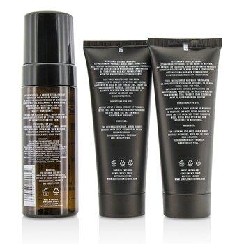 Face Gift Set: Exfoliating Facial Scrub 100ml + Daily Foaming Cleanser 150ml + Daily Moisturiser 100ml  3pcs