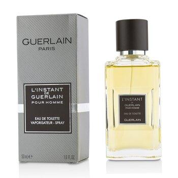 L'Instant De Guerlain Pour Homme Eau De Toilette Spray (New Version)  50ml/1.6oz
