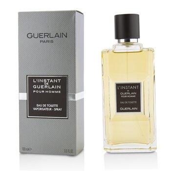 L'Instant De Guerlain Pour Homme Eau De Toilette Spray (New Version)  100ml/3.3oz