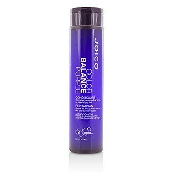 Joico Color Balance Purple Conditioner (Eliminates Brassy/Yellow Tones on Blonde/Gray Hair)  300ml/10.1oz
