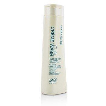 Curl Creme Wash Sulfate-Free Co+Wash (For Soft, Frizz-Free Curls)  300ml/10.1oz