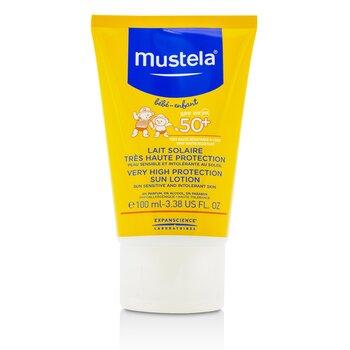 Very High Protection Sun Lotion SPF50+ - Sun Sensitive & Intolerant Skin  100ml/3.3oz